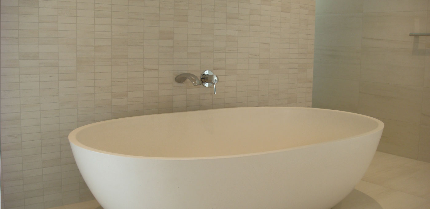 Winter Bianco Mosaics and wall and floor tiles - DDB Design and Construction